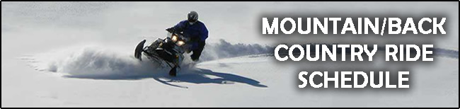 Spokane Winter Knights Mountain and Back Country Ride Schedule