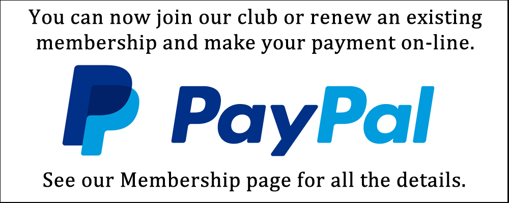 Use PayPal for on-line memberships