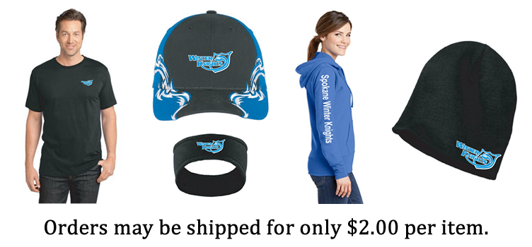 Spokane Winter Knights Snowmobile Club Insignia Apparel from Standout Promotions