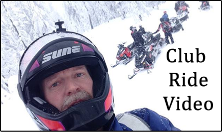 Spokane Winter Knights Snowmobile Club Ride Video