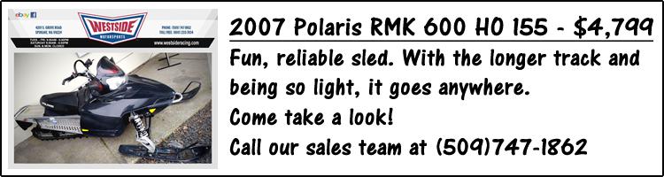 2007-polaris-rmk-600-ho-155-westside-motorsports for sale
