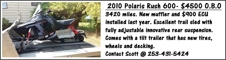 2010 Polaris Rush 600