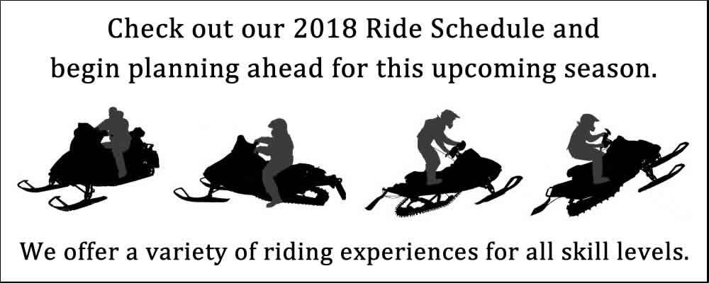 Spokane Winter Knights 2018 Ride Schedule