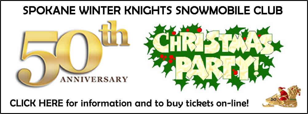 Spokane Winter Knights 50th Anniversary Christmas Party