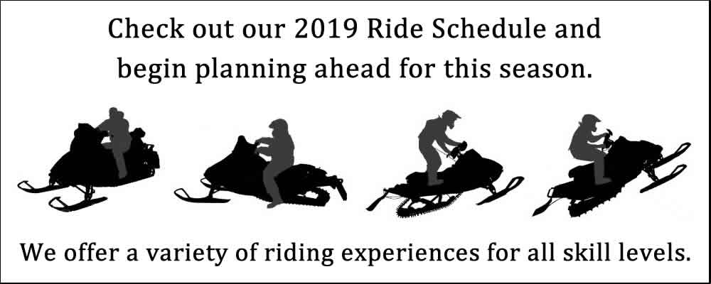 Spokane Winter Knights Snowmobile Club 2019 Ride Schedule