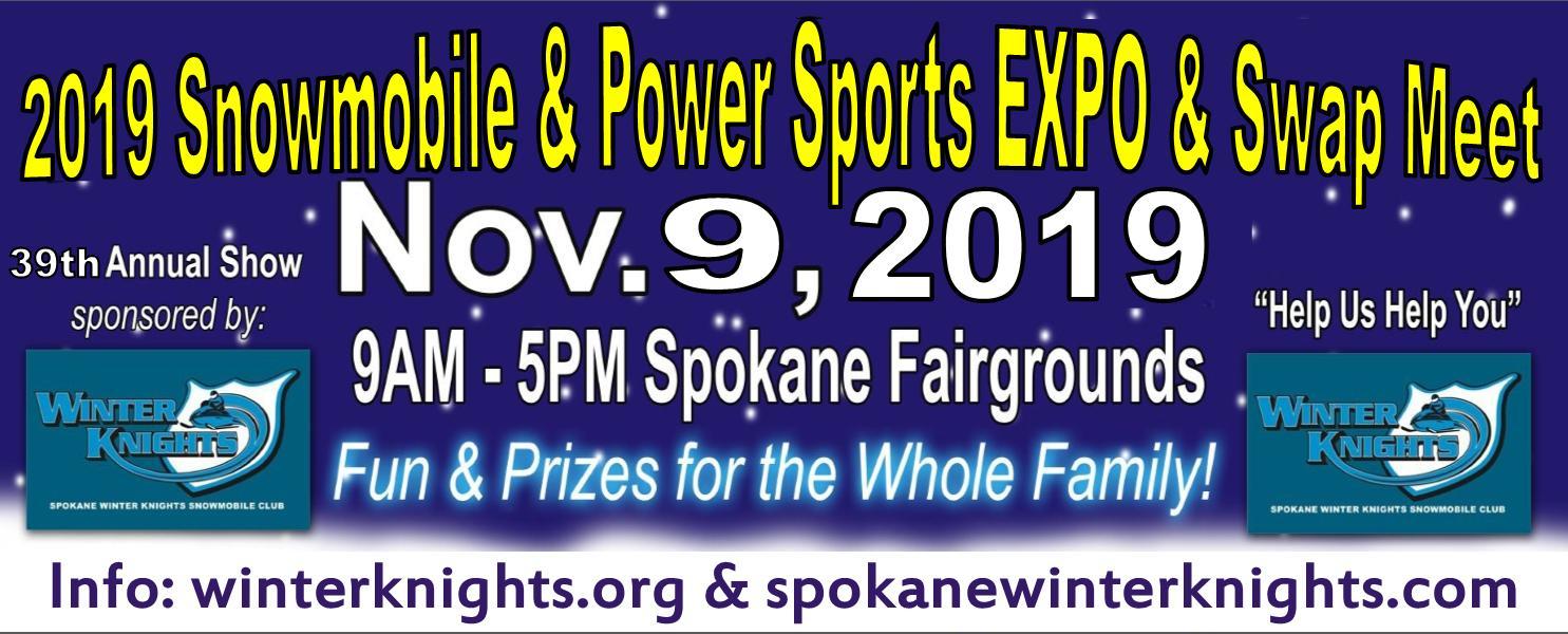 Spokane Winter Knight Snowmobile & Power Sports Expo & Swap Meet 2019