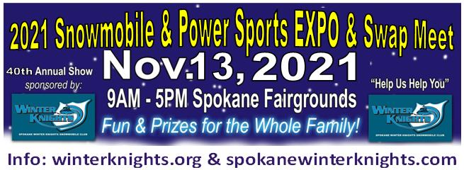 2021 Spokane Winter Knights Snowmobile & Powersports EXPO