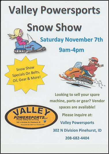 Valley Powersports Snow Show